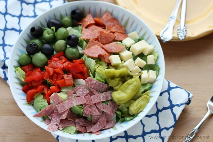 This flavor packed salad is a great start to any meal or a fabulous main dish!
