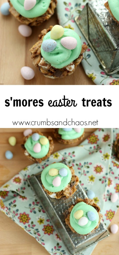 Smores Easter Treats Collage