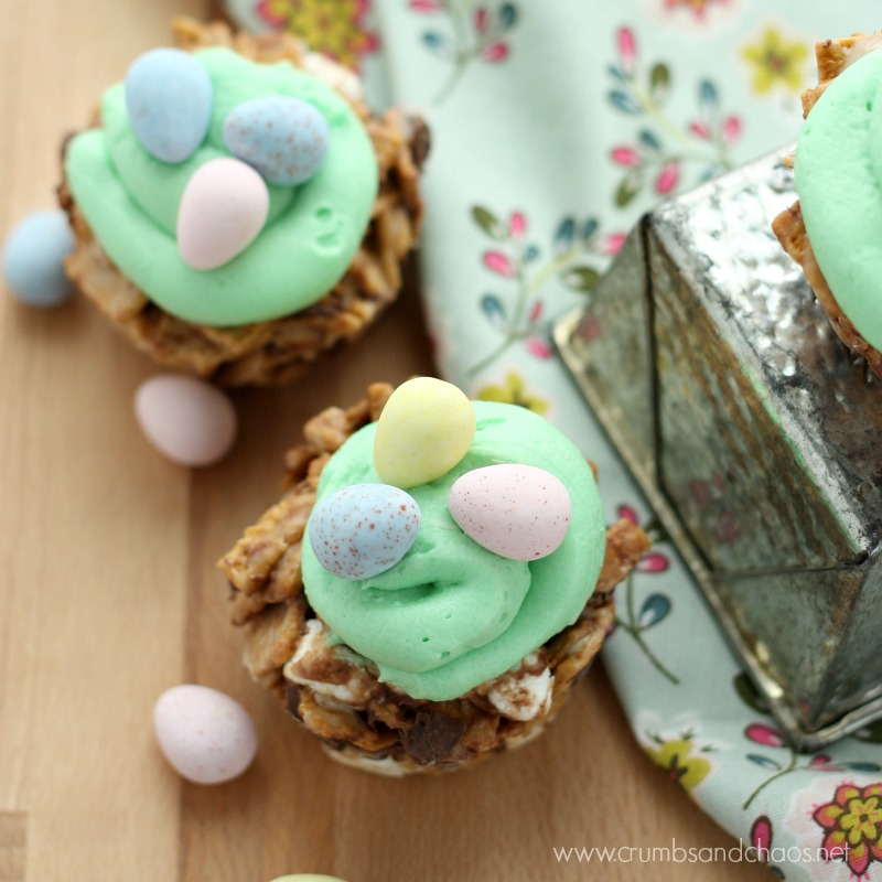 S'mores Easter Treats   Crumbs and Chaos