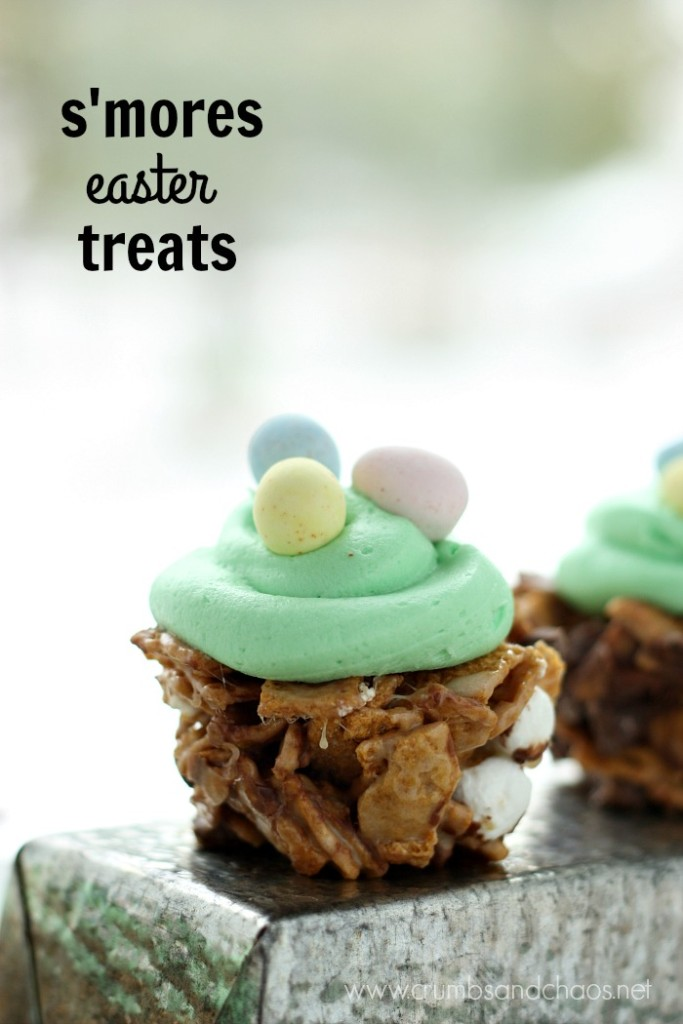 S'mores Easter Treats | Crumbs and Chaos
