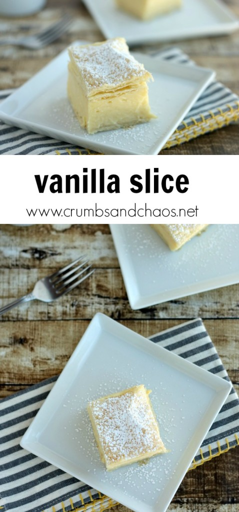 Vanilla Slice | Crumbs and Chaos