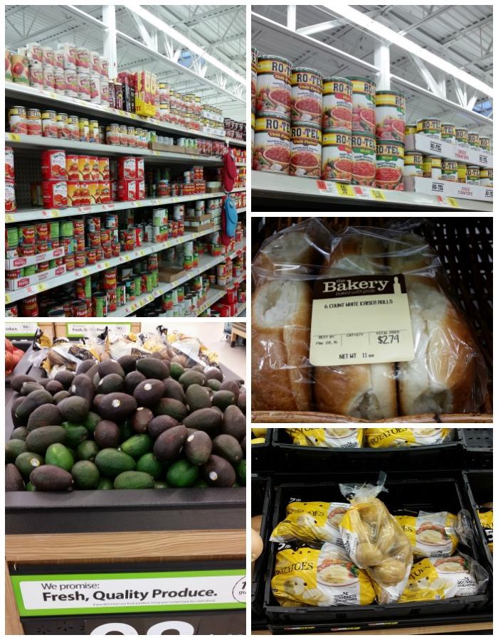 Walmart RO*TEL Collage