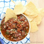 Restaurant Style Salsa | Crumbs and Chaos