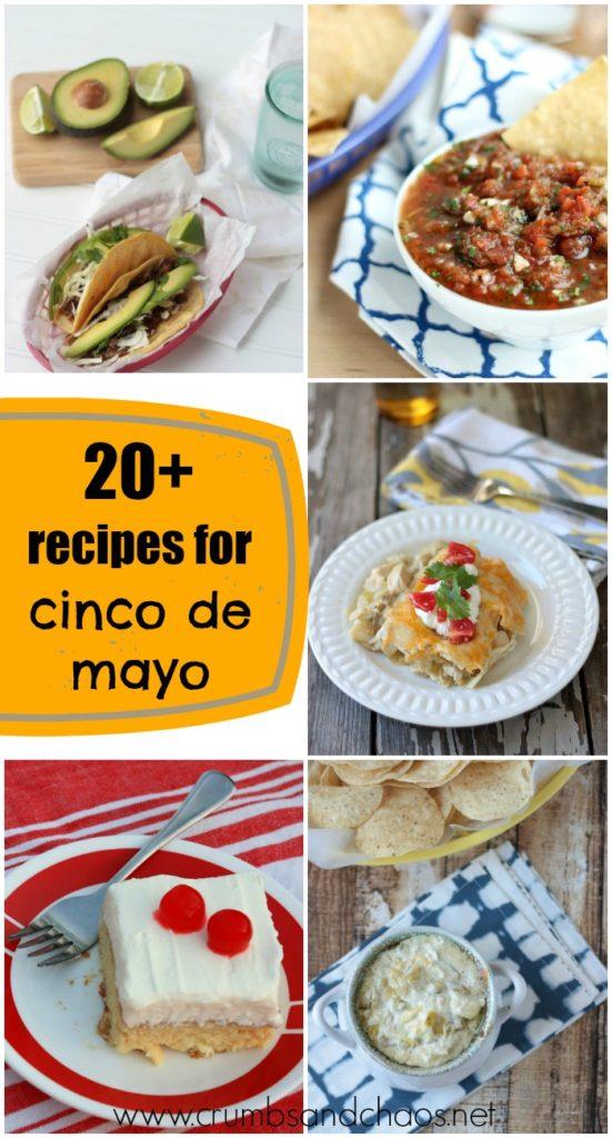 20+ Recipes for your Cinco de Mayo Fiesta