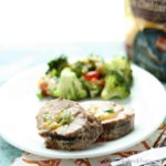 Perfectly grilled, Cheddar and Poblano Stuffed Pork Tenderloin is an upgrade to the usual grilled pork.