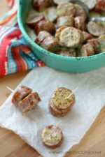 Maple Mustard Sausage Bites