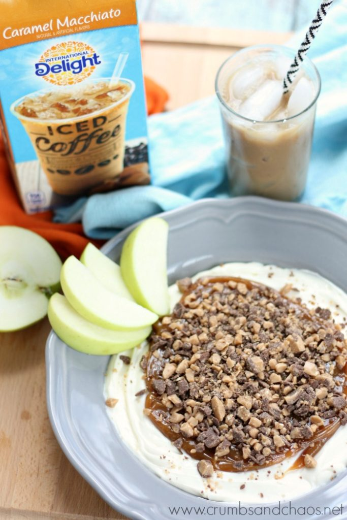 Caramel Apple Dip and ID Iced Coffee