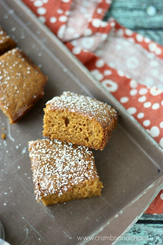 Perfect snack or lunchbox treat, Easy Pumpkin Snack Cake is simple to make and sure to be loved by all!