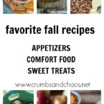 Our Favorite Fall Recipes all in one place! Appetizers, comfort food and sweet treats