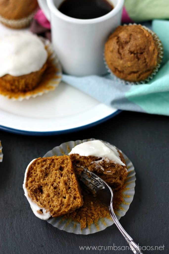 Bursting with all the pumpkin goodness, this recipe for Pumpkin Maple Muffins makes enough for a crowd!