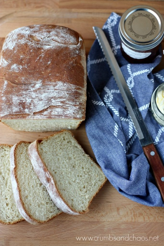 You'll love this easy homemade bread recipe! Farmhouse Bread is perfect for toasting or making sandwiches!