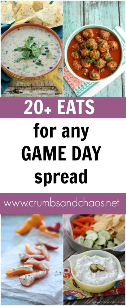 20+ Eats for Any Game Day Spread | Crumbs and Chaos