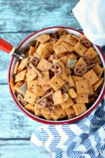 Spicy Cheez Its Party Mix