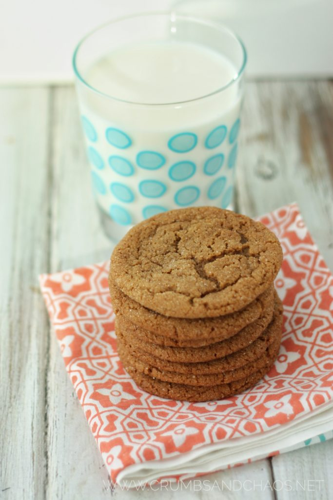 Perfectly spiced and chewy, this Gingersnap Cookie recipe is one that will be enjoyed for years to come!