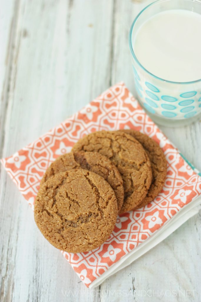 Hard not to love this classic Gingersnap Cookie!